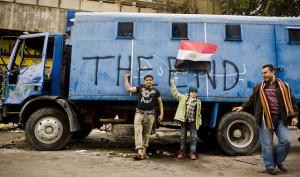 demonstracje w Egipcie